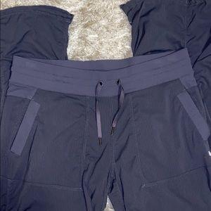 "Lululemon pants size 12 35"" length."
